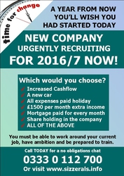 New Company Urgently Recruiting