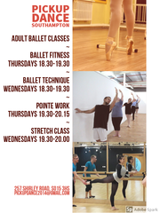 Adult Ballet Classes - Shirley,  Southampton
