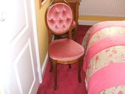Bedroom Dressing Table Boudour Chair (£45)
