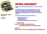 EARN 250 POUNDS PER WEEK